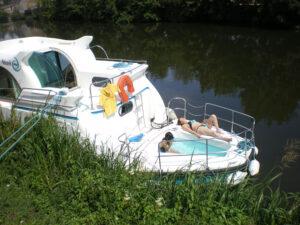 Navegación tranquila en peniche