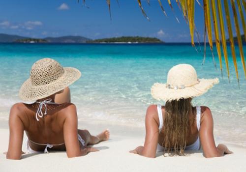 Relajación en el Caribe